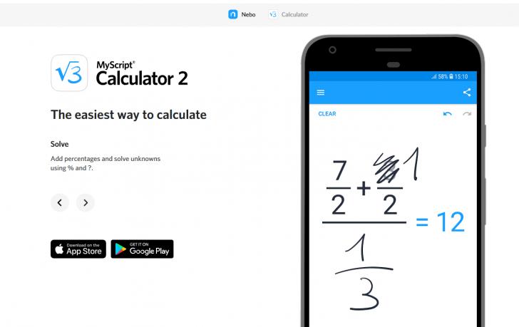 إطلاق تطبيق MyScript Calculator 2 وهو متاح مجّانًا ولفترة محدودة