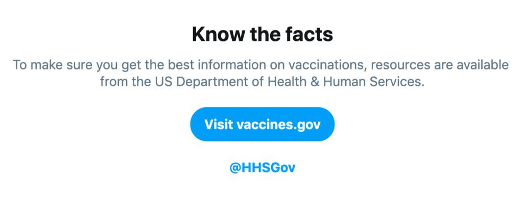 تويتر تلحق إنستقرام في محاربة المعلومات المضللة حول اللقاحات بتطوير أداة بحث جديدة