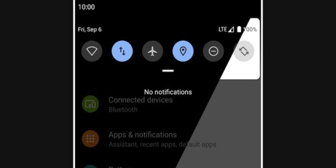 جديد التطبيقات: Automatic Dark Theme لجدولة الوضع المظلم على أندرويد 10