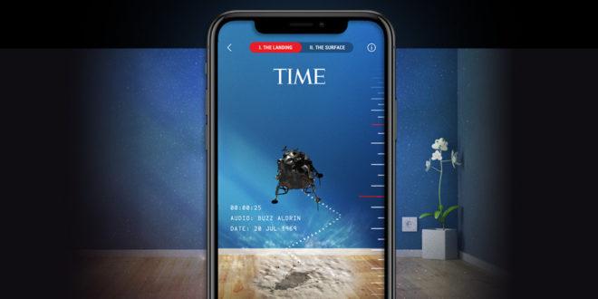 تطبيق TIME Immersive لمساعدة قرّاء المجلة في استكشاف قصصها عبر VR و AR