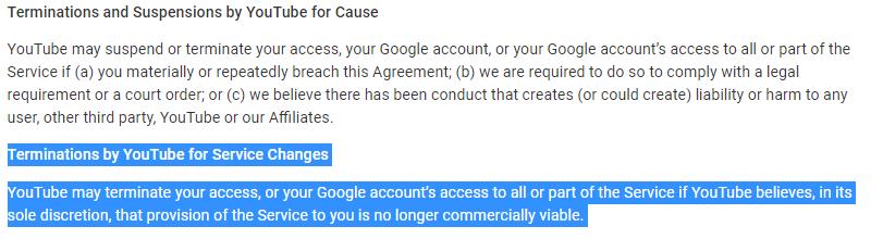 """يوتيوب قد تغلق القنوات """"غير المجدية تجارياً"""""""