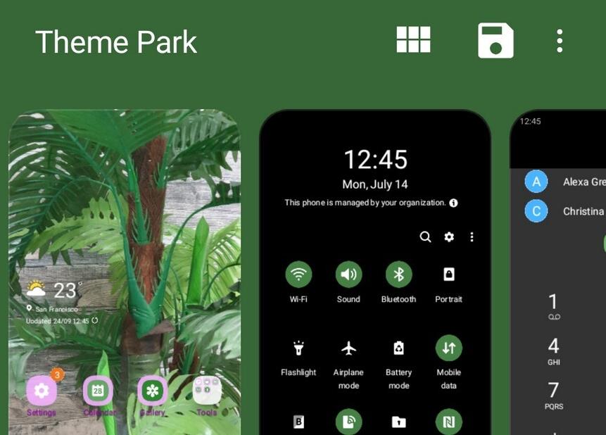 أداة Theme Park من سامسونج لإنشاء الثيمات الخاصة بك على هاتفك الجالاكسي