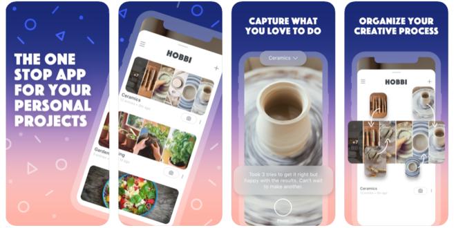 فيس بوك تُطلق تطبيقها الجديد Hobbi على طراز خدمة Pinterest