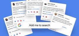 جوجل تختبر إنشاء ملف شخصي خاص بك ضمن نتائج البحث