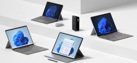 مايكروسوفت تكشف عن مجموعة من أجهزة سرفيس أبرزها Surface Studio و Surface Pro 8 مع شاشات بتحديث 120 هرتز