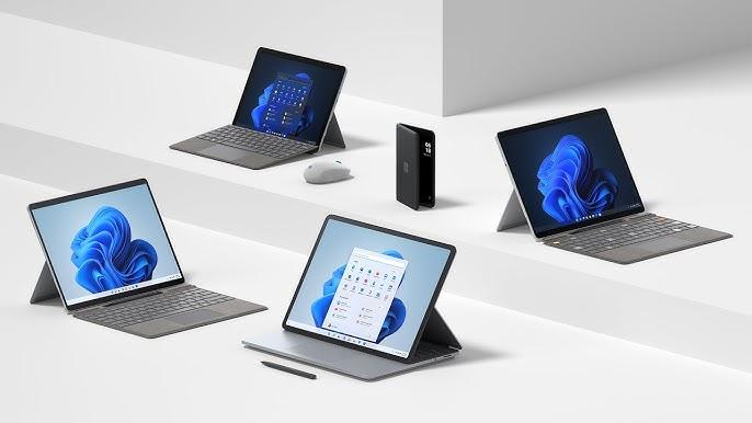 مايكروسوفت تكشف عن مجموعة من أجهزة سرفيس أبرزها Surface Studio و Surface Pro 8 مع شاشة بتحديث 120 هرتز